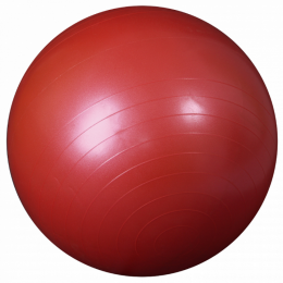 Мяч для фитнеса , диаметр 75 см. - Red