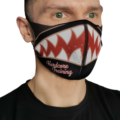Маска Hardcore Training Bomb-Shark.