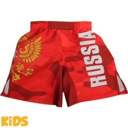 Детские шорты Alfa Brend Camo - Red