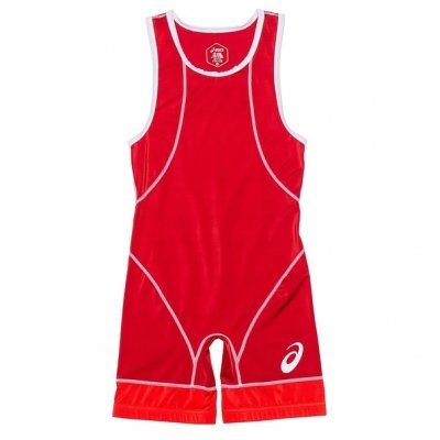 Трико борцовское ASICS WRESTLING SINGLET - Red