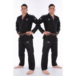 Кимоно Bad Boy Focus BJJ Gi с поясом -  Black