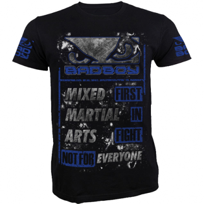 Футболка Bad Boy MMA - Black/Blue