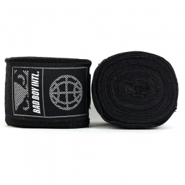Бинты Bad Boy Combat Premium Hand Wraps 5m - Black