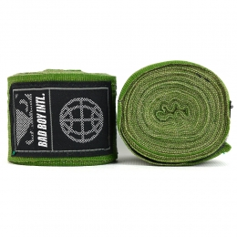 Бинты Bad Boy Combat Premium Hand Wraps 5m - Green