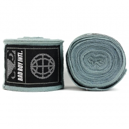 Бинты Bad Boy Combat Premium Hand Wraps 5m - Grey
