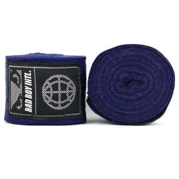 Бинты Bad Boy Combat Premium Hand Wraps 5m - Blue