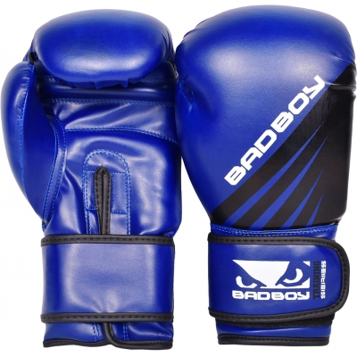 Перчатки боксерские Bad Boy Training Series Impact - Blue/Black