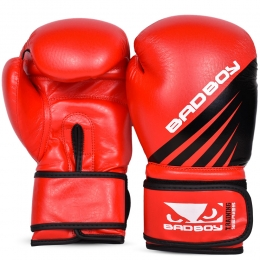 Перчатки боксерские Bad Boy Training Series Impact - Red/Black