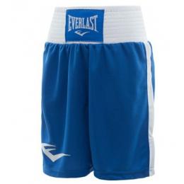 Шорты боксерские Everlast Elite Blue