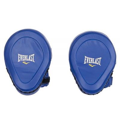 Лапы Everlast Pro Elite Leather Mantis -  Blue