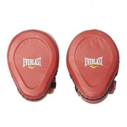 Лапы Everlast Pro Elite Leather Mantis - Red