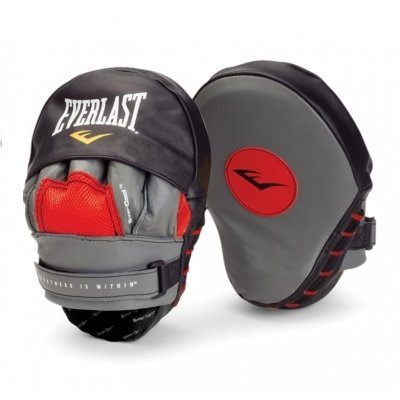 Лапы Everlast Mantis Punch Mitts - Black/Red
