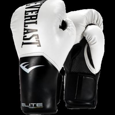 Перчатки боксерские Everlast Pro Style Elite - White