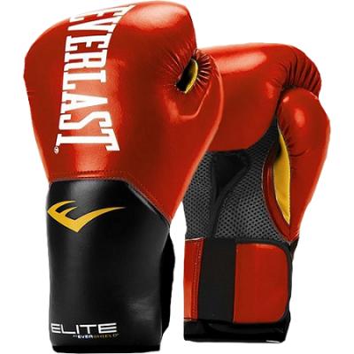 Перчатки боксерские Everlast Pro Style Elite - Red