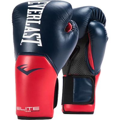 Перчатки боксерские Everlast Pro Style Elite - Blue/Red