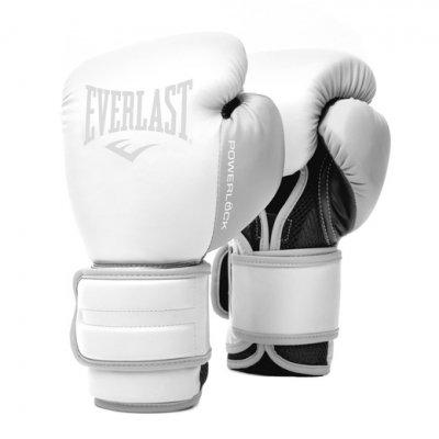 Перчатки боксерские POWERLOCK PU 2 - White