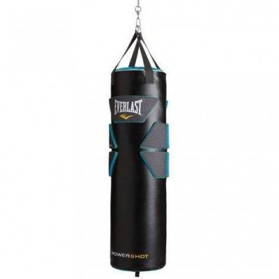 Мешок боксерский Everlast Powershot Gel PU 33*117, 45кг.