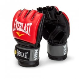 Перчатки ММА Everlast PRO Style - Black/Red