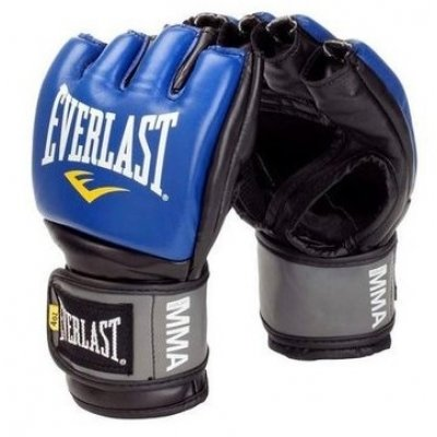 Перчатки ММА Everlast Pro Style Grappling - Blue