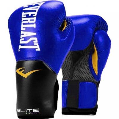 Перчатки боксерские Everlast Pro Style Elite - Blue