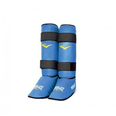 Защита голени и стопы для рукопашного боя Everlast - Blue