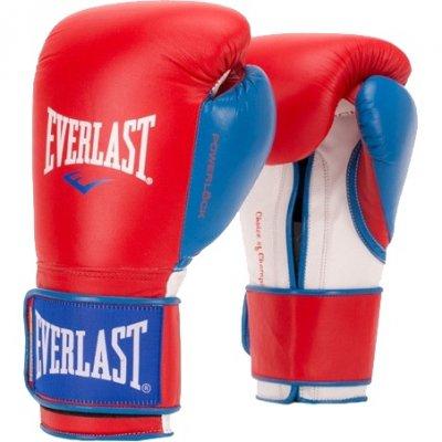 Перчатки боксерские Everlast PowerLock PU - Red