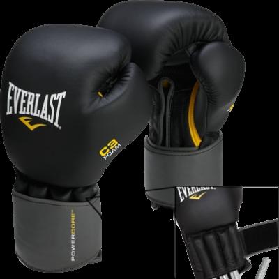 Перчатки с утяжелителем Everlast Weighted - Black