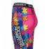 Штаны компрессионные женские Extreme Hobby Digital Puzzle pink