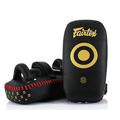 Пэды Fairtex - Black/Gold