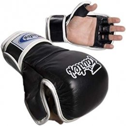 Перчатки ММА Fairtex Sparring Gloves FGV15 - Black