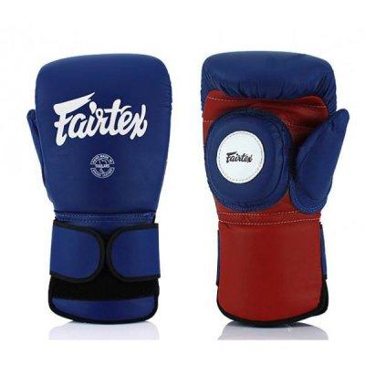 Лапы - перчатки Fairtex - Blue/Red