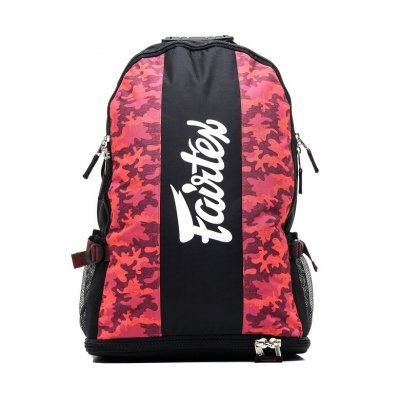 Рюкзак Fairtex BAG4 - Red/Camo