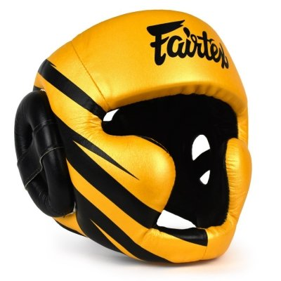 Шлем Fairtex HG16M1 - Yellow/Black
