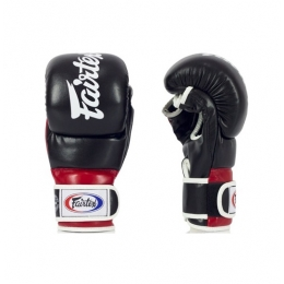 Перчатки ММА Fairtex FGV18 Hybrid Super Sparring - Black