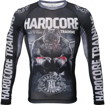 Рашгард Hardcore Training The Moment of Truth - Black