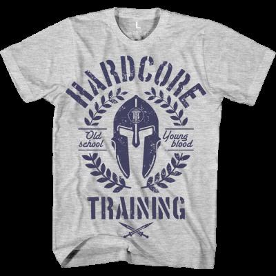 Футболка Hardcore Training Helmet - Grey