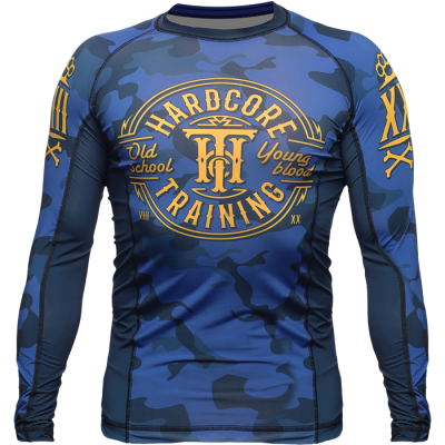 Рашгард Hardcore Training - Blue Camo