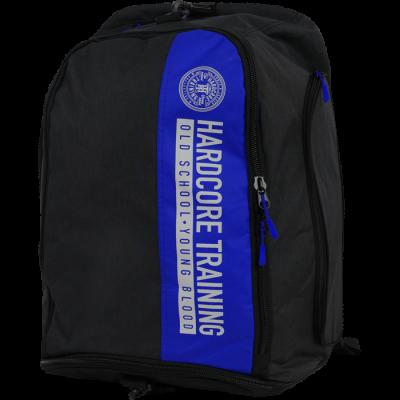 Cумка-рюкзак Hardcore Training Graphite Black/Blue