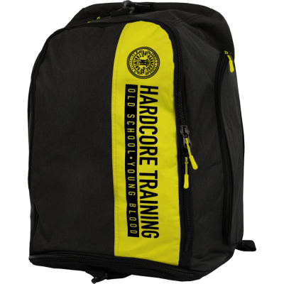 Сумка-рюкзак Hardcore Training Graphite - Black/Yellow