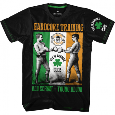 Футболка Hardcore Training Warriors Code - Black