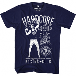 Футболка Hardcore Training Boxing - Blue
