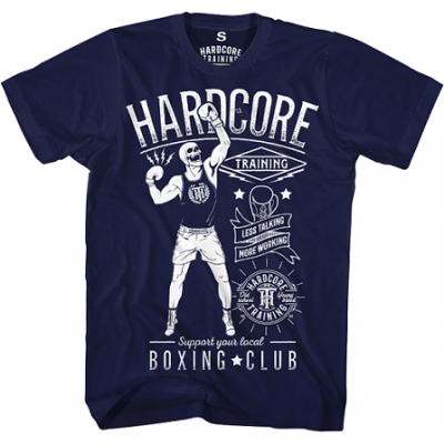 Футболка Hardcore Training Boxing - Blue