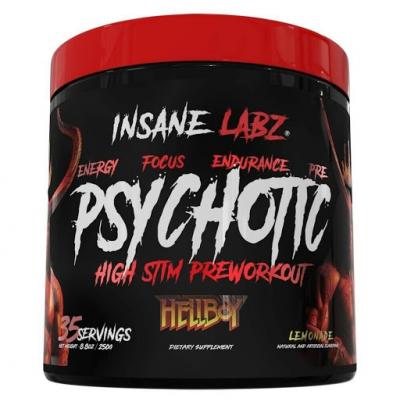 Предтренировочный комплекс Insane Labz Psyhotic Hellboy 247 гр.