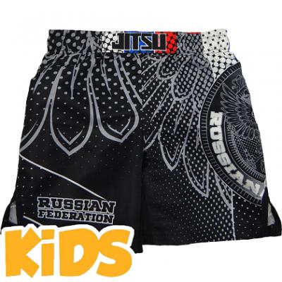Детские шорты Jitsu Patriot - Grey