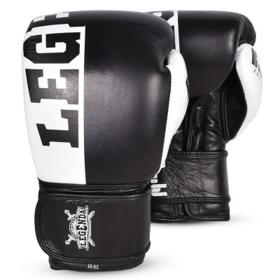 Перчатки боксерские Legenda B&W Edition - Black/White