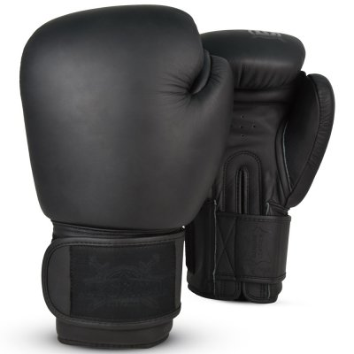 Перчатки боксерские Legenda Chrom - Black