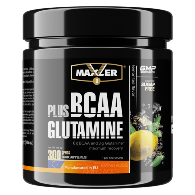 BCAA Комплекс Maxler BCAA Plus Glutamine 300 гр.