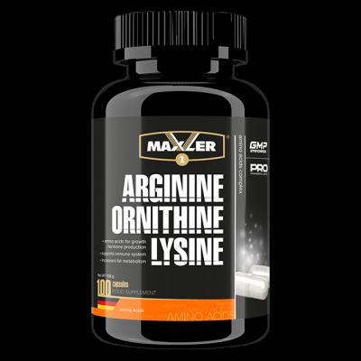 Аминокислотный комплекс Maxler Arginine Ornithine Lysine 100 капс.