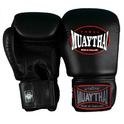 Перчатки боксерские MUAY THAI - Black