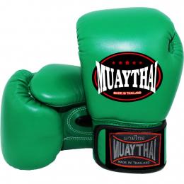 Перчатки боксерские MUAY THAI - Green